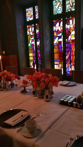 Amazing Window And Flowers In The Marriage Chamber
